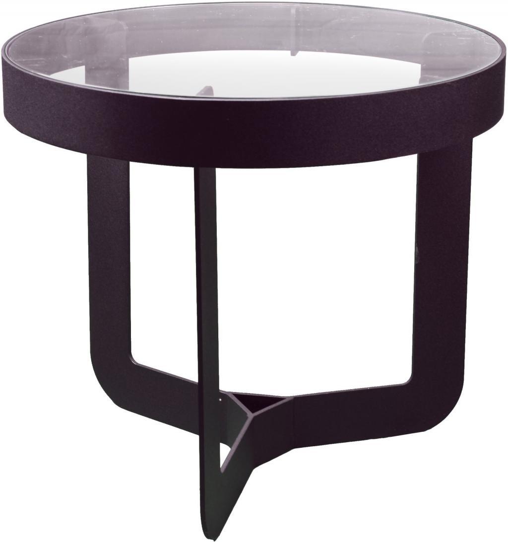 Beistelltisch Douglas 2 Schwarz Glas Spinder Design Kaufen